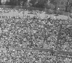Students at the Greek Theatre